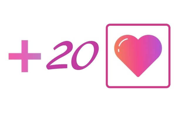 20 IG likes